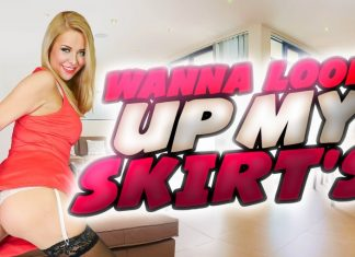 Wanna Look Up My Skirt?