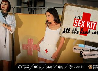 First-Sex Kit: All the Hand Inside