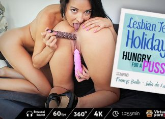 Lesbian Teen Holidays: Hungry for a Pussy