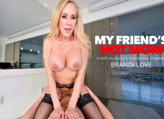 Brandi Love fucks you while she washes your clothes