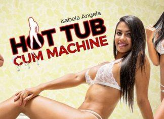 Hot Tub Cum Machine