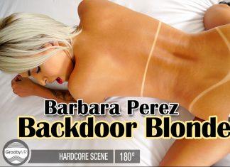 Backdoor Blonde!