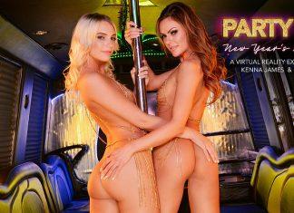 "Aila Donovan, Kenna James In ""Party Girls"""