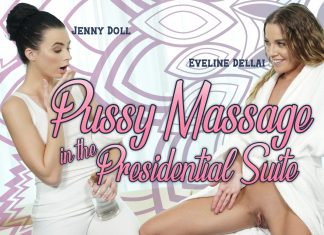Pussy Massage in the Presidential Suite