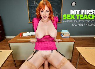 "Lauren Phillips in ""My First Sex Teacher"""