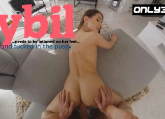Sybil Oiled Up and Banged in the Pussy