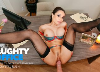 """Crystal Rush in """"Naughty Office"""""""