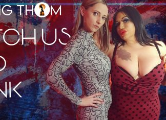 Mia MILF and Goddess Aveena in their FIRST lesdom clip
