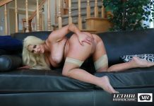 Spencer Is A Horny Blonde Big Tit Housewife