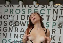 Macy Ssens Is An Angel In Black Showing Us Her Sexy Figure