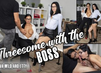 Threesome With The Boss