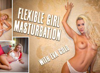 Flexible Girl Masturbation