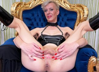 Fetish Mom Alone At Home